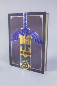 Libro con funda zelda arts and artifacts nintendo Mundo N