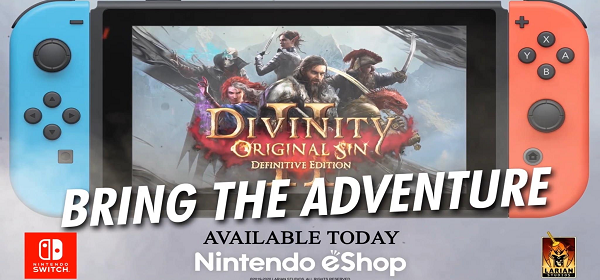 DIVINITY: ORIGINAL SIN II – DEFINITIVE EDITION LLEGA YA A NINTENDO SWITCH