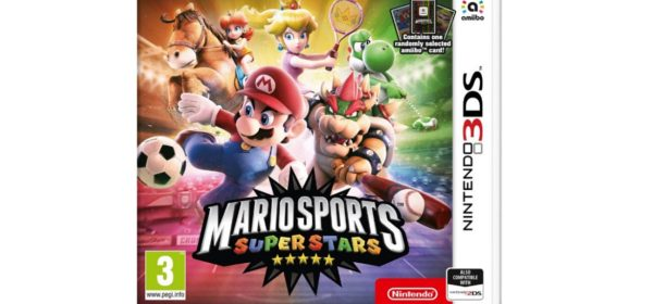 Portada PAL oficial de Mario Sports Superstars.