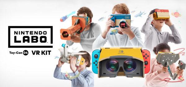 Nintendo Labo VR KITTTT