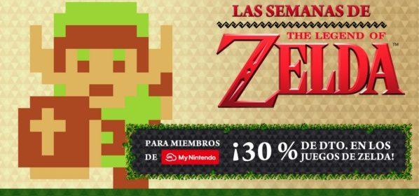 Descuentos durante las semanas de The Legend of Zelda en My Nintendo.