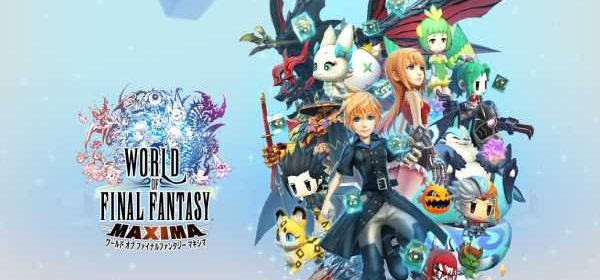 World of Final Fantasy Maxima peso eshop japonesa