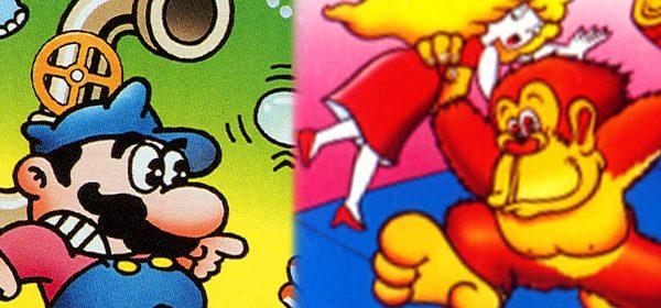 Nintendo en el arcade: Mario Bros., Donkey Kong