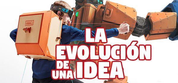 Nintendo Labo es la evolución de una idea del pasado