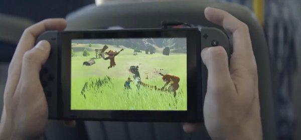 Comercial de Nintendo Switch publicidad Alemania Comercial TV Spot