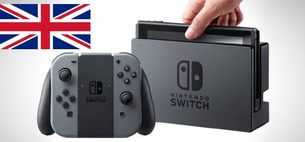 Nintendo Switch ventas uk Mundo N